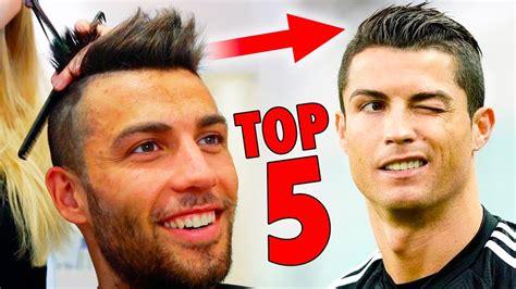 Top 5 Cristiano Ronaldo Hairstyles