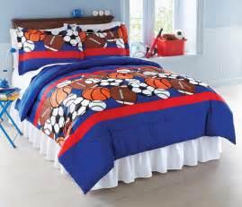 sports fan theme kids boys bedroom bedding comforter set pillow shams twin full ebay