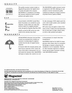 Magnetrol Guide Wave Radar Level Transmitter For Hygienic