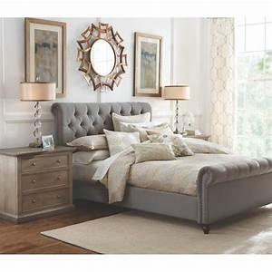Home Decorators Collection Gordon Grey Queen Sleigh Bed