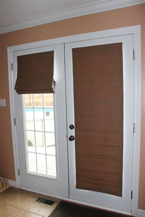 blackout shades for doors window treatments