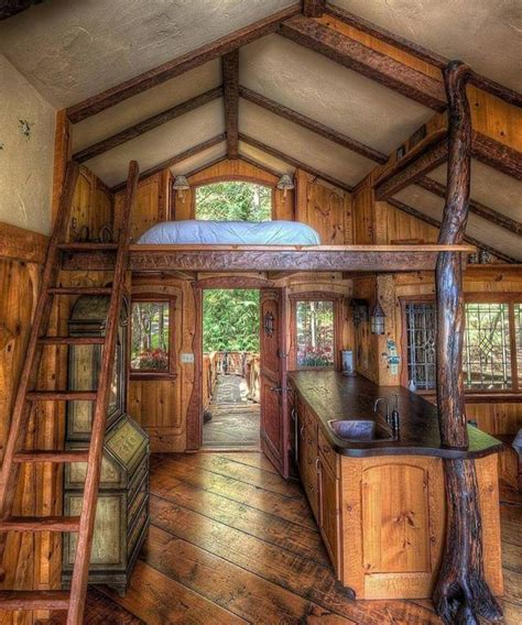 fairytale treehouse   small log cabin small