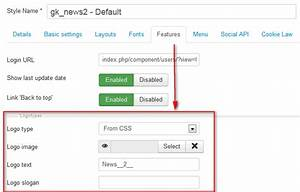 how to change add logo in joomla templates gavickpro With how to upload a template in joomla