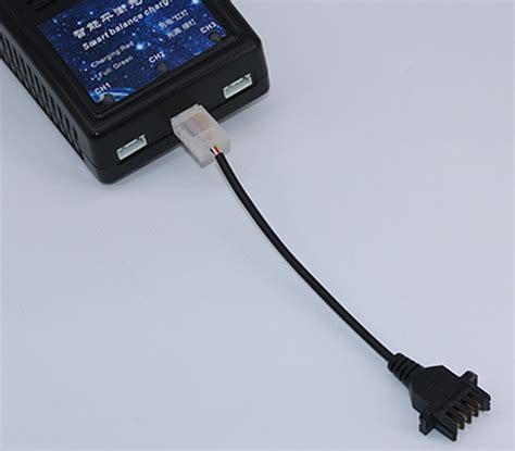 fit  parrot bebop  drone rc fpv  battery balance charger cable plug hot ebay