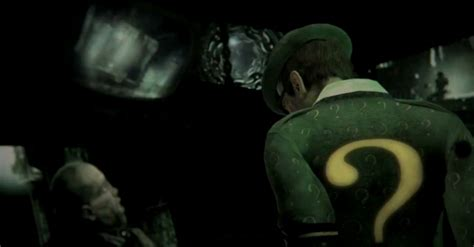 batman arkham city riddler reveal trailer