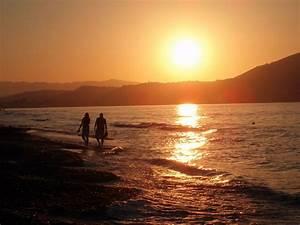 Bilder Am Strand : file abend am strand von wikimedia commons ~ Watch28wear.com Haus und Dekorationen