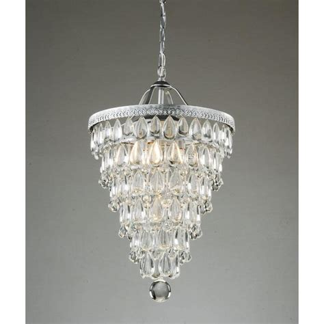 copy cat chic pottery barn clarissa glass drop chandelier