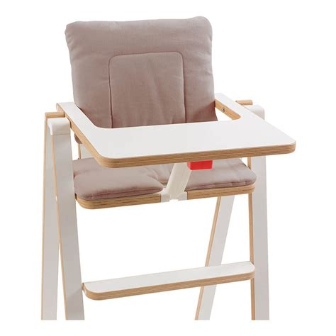 coussin chaise haute bebe coussin chaise haute supaflat taupe supaflat design bébé
