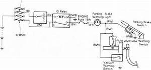 Brake Warning System Circiut Diagram