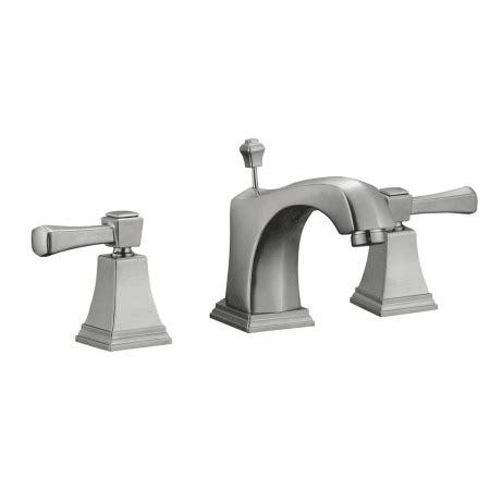 design house  satin nickel double handle widespread