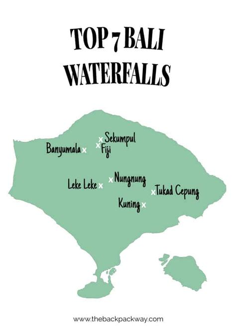 top  bali waterfalls recommended  popular