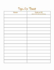 Best 25+ ideas about Printable Potluck Sign Up Sheet Template | Find ...