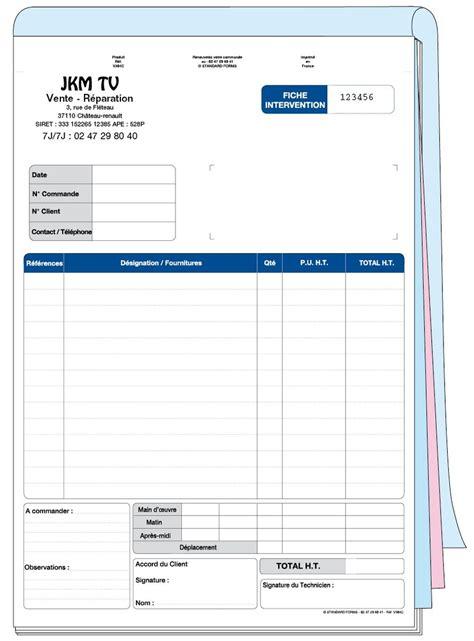 modele fiche d intervention maintenance fiche d intervention standard v304c