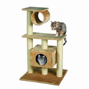 Arbre A Chat En Palette : arbre chat leontine avec 3 plateaux pour chat ~ Melissatoandfro.com Idées de Décoration