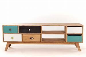 Meuble Scandinave Vintage : meuble tv scandinave pas cher maison et mobilier d 39 int rieur ~ Teatrodelosmanantiales.com Idées de Décoration