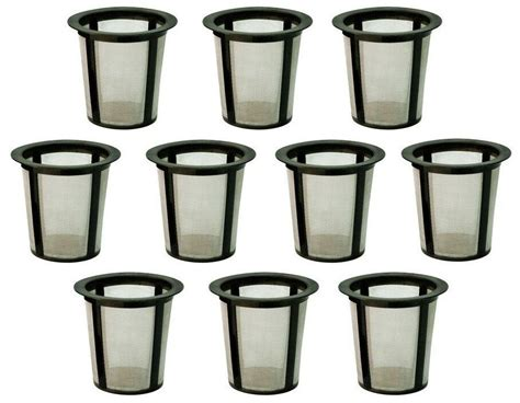 A wide selection of coffee filters, keurig accessories, and all other supplies to meet all your brewing needs. Refillable Baskets My K-cup Replacement Reusable Coffee Filter Keurig 10-Packs | eBay