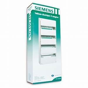 Tableau Electrique 4 Rangées : tableau lectrique siemens 4 rang es 13 modules ~ Dailycaller-alerts.com Idées de Décoration