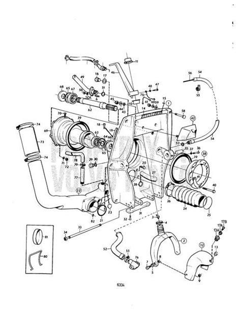 Volvo Pentum 270 Trim Wiring Diagram by Exploded View Schematic Chris Craft Lancer