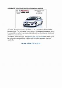 Honda Civic 1998 Service Manual Pdf