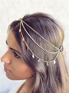 THE KARMA NEW Gold Leaves Rhinestone Indian Boho Bohemian