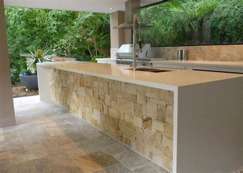 Best Outdoor Kitchen, Travertine Outdoor Kitchen