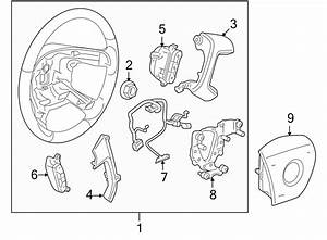Chevrolet Silverado 1500 Steering Wheel Wiring Harness