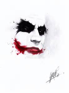 Joker Face Drawings