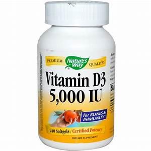 Vitamin D Dosierung Berechnen : nature 39 s way vitamin d3 5000 iu 240 softgels ~ Themetempest.com Abrechnung