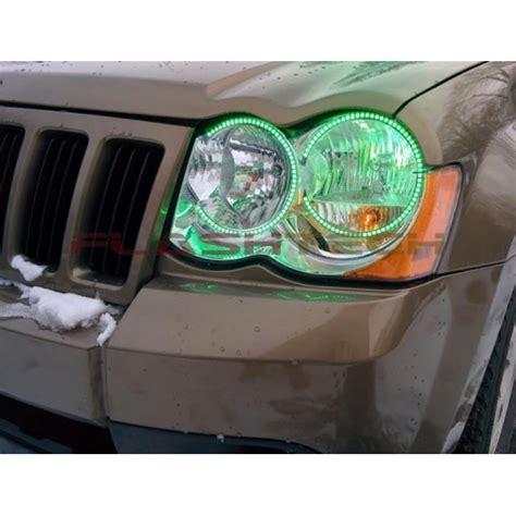 jeep grand cherokee  fusion color change led halo