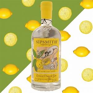 Sipsmith have invented lemon drizzle gin sold in M&S