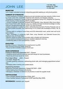 entry level resume sample resumesplanetcom With entry level job resume template