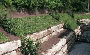 Trockenmauer Bauen Ohne Fundament : hanggarten planung anlage ~ Lizthompson.info Haus und Dekorationen