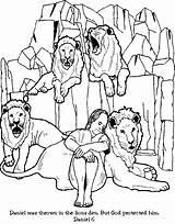 Coloring Daniel Den Pages Lion Lions Popular sketch template