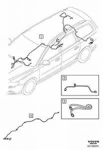 Volvo V70 Wiring Harness  Cable Harness Infotainment  High