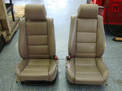 E34 Fs Front M5 Msport Sport Seats Parchment Heated