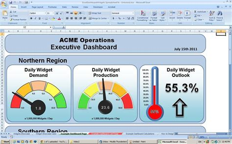 thingworx dashboard template exles download dynamic dashboard template in excel excel spreadsheet