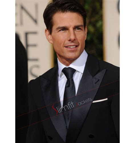 Tom Cruise Black Suit Mens Fashion Jackets Suits
