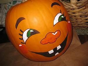 Kürbis Bemalen Gesicht : cute pumpkin faces use basic colors or not so basic it 39 s your pumpkin be creative ~ Markanthonyermac.com Haus und Dekorationen
