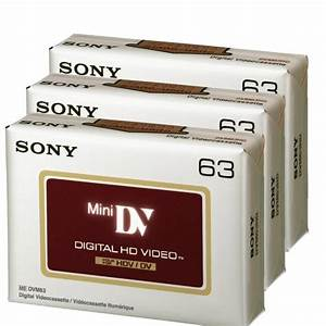 Sony DVC HD 63 Minute Videocassette – 3 Pack (Discontinued ...