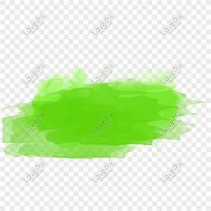 Vectoriales Photoshop Verde Hermoso Efecto Acuarela Vector Material Imagen