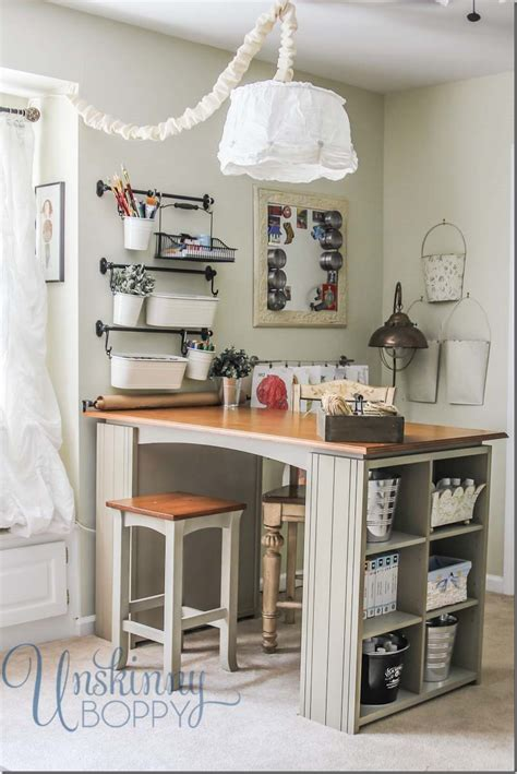 Craftaholics Anonymous®  Small Craft Room Storage Ideas