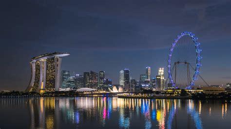Singapore Night 2015 Bing Theme Wallpaper 1920x1080 Download
