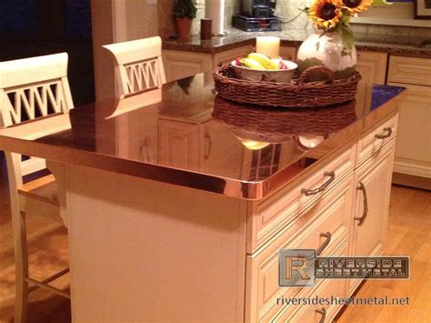 kitchen island countertop kitchen island with copper counter top copper counter tops