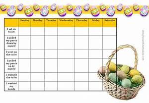 Free Potty Reward Chart Easter Charts