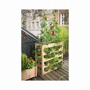 Mini Potager En Bois : potager vertical en bois botanic botanic ~ Premium-room.com Idées de Décoration