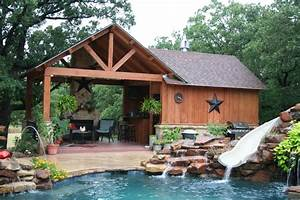 Outdoor Kitchens-Pergolas - Traditional - Pool - dallas