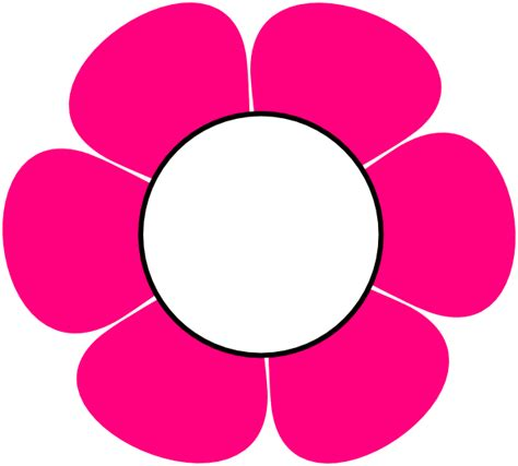 flower clipart 1 pink flower clip at clker vector clip
