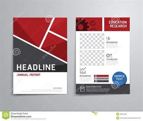 Company Booklets Templates by Vector Brochure Flyer Magazine Cover Booklet Poster