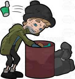 Homeless Clip Art Cartoon