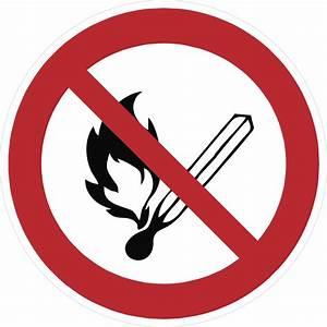 Offenes Feuer Auf Eigenem Grundstück : schild keine offene flamme feuer offene z ndquelle und ~ Lizthompson.info Haus und Dekorationen